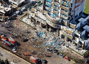 Bomb blast in Turkey